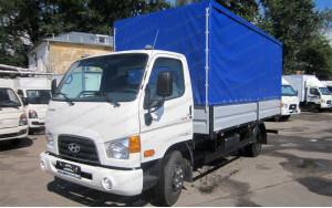 Hyundai HD-78 Бортовой Тент
